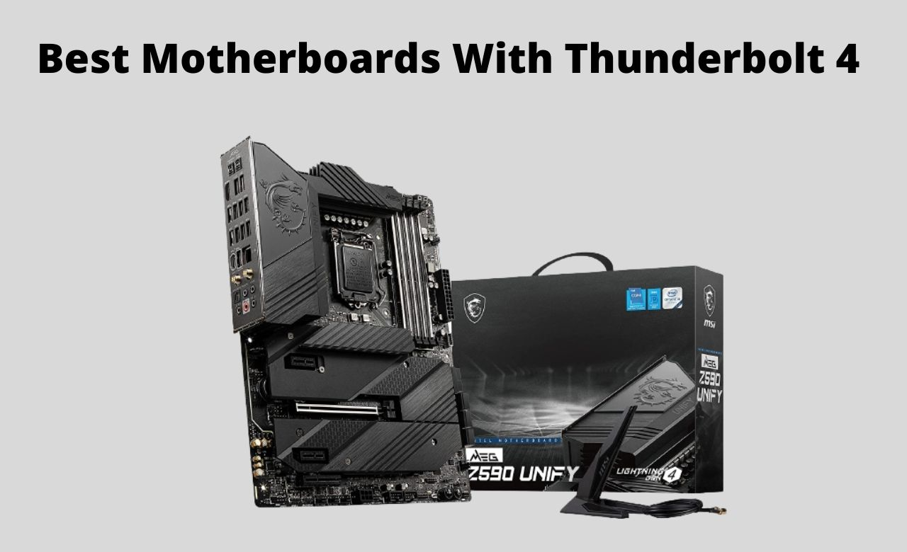 Best Motherboards With Thunderbolt 4